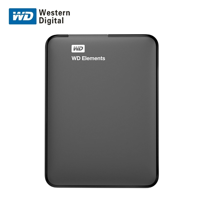 西数 E元素系列 2.5寸 2TB移动硬盘