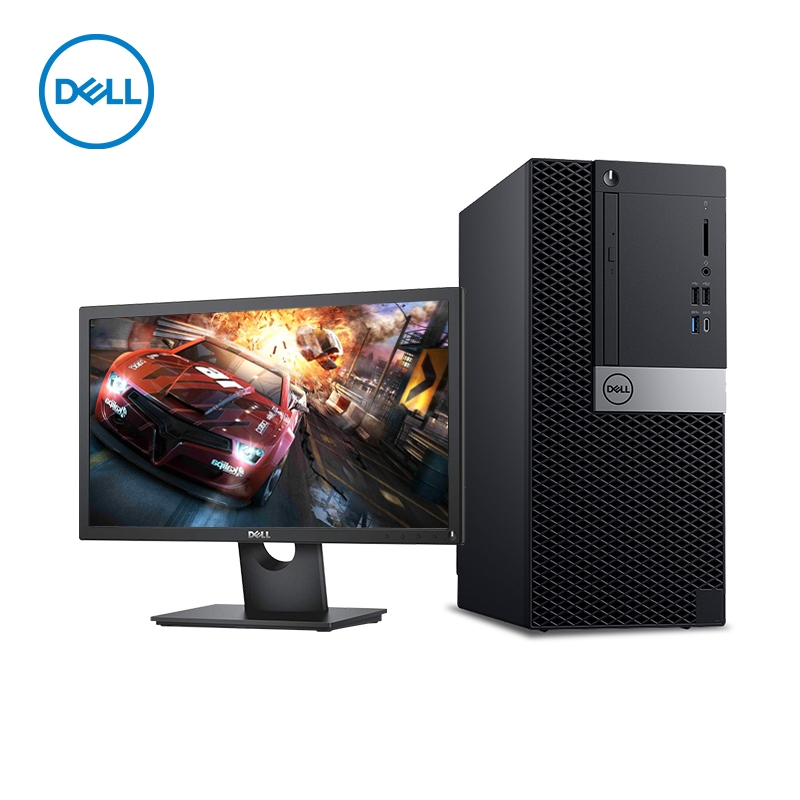戴尔(DELL) OptiPlex 7070 Tower 台式计算机  I5-8500/8G/1TB/2G独显/21.5英寸