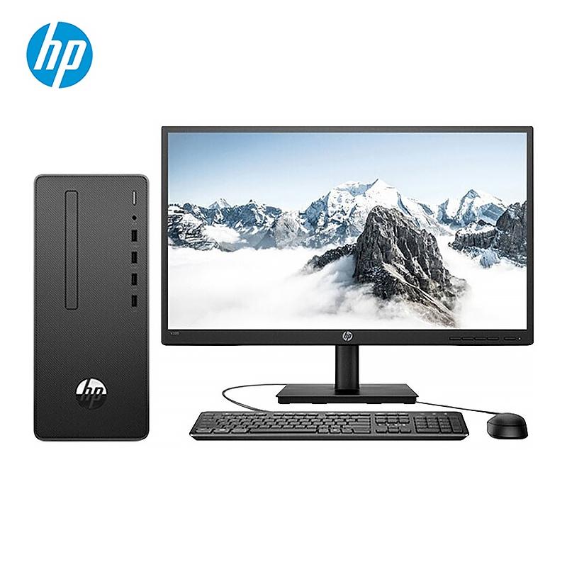 惠普/HP Desktop Pro G2 MT 台式计算机 (i3-9100/4G/1T/无光驱/19.5英寸)