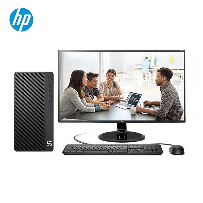 惠普(HP) 288 PRO G5 MT 台式计算机(I5-9500 8G 1T DVDRW 集显 21.5寸显示器)
