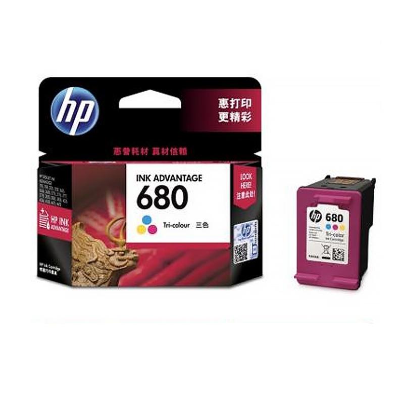 惠普(HP 680)F6V26AA 彩色墨盒(适用HP DeskJet 5078 5088 2138 3638 3636 3838 3777 3778 4678 4538)