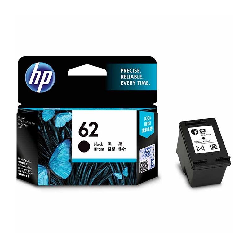 惠普(HP)C2P04AA (62)黑色墨盒 适用于HP OfficeJet 200 约200页