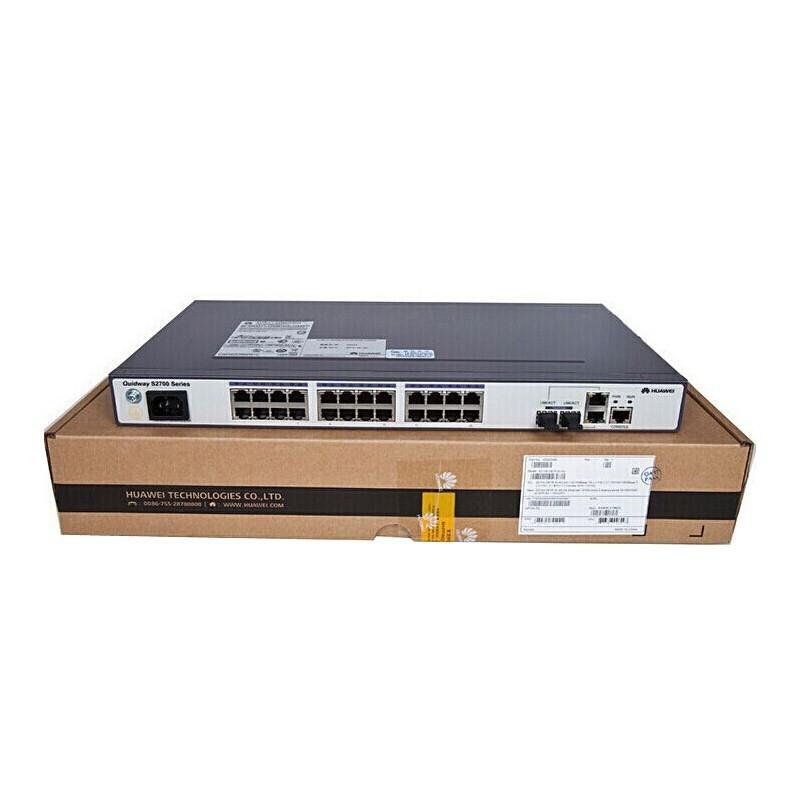 华为/HUAWEI 交换机 S2700-26TP-SI-AC 24口百兆网管企业级交换机 交换设备