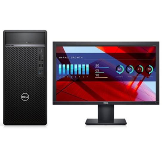 戴尔(Dell) OptiPlex 3080 Tower i3-10100/4G/1T/DVDRW/集显/19.5寸 台式计算机