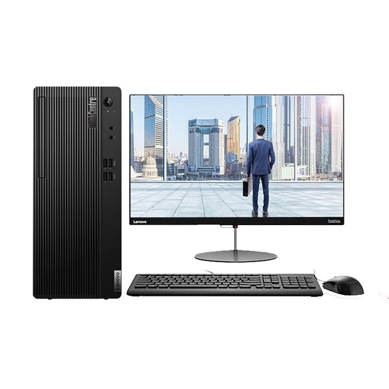 联想ThinkCentre E77 i5-10400/4G/1T/集显/21.5寸 台式计算机